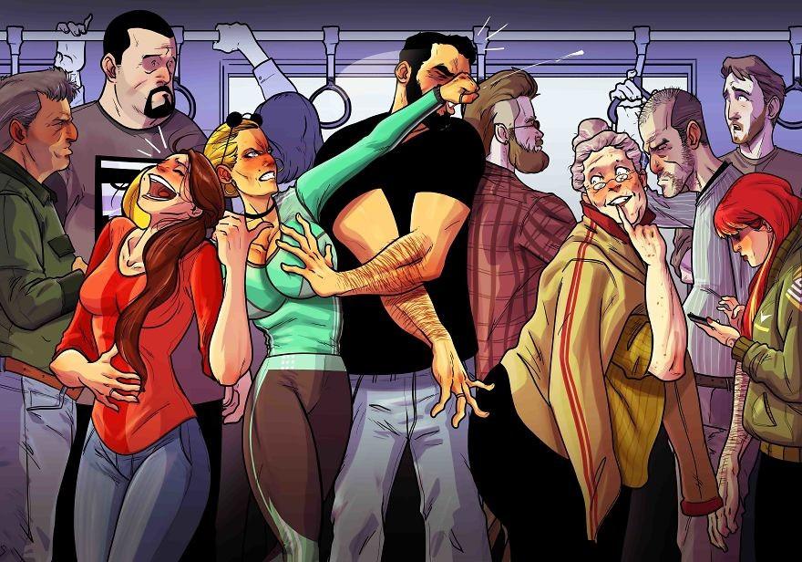 Комиксы  об отношениях Yehuda Devir 2. Студия комиксов на заказ.