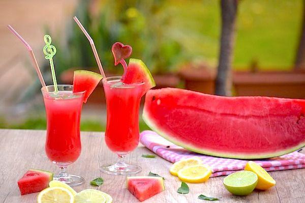 Recept na melounové mojito