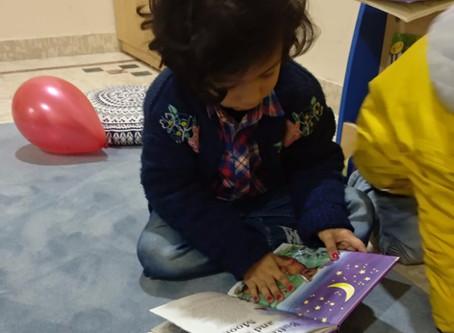 Language development in preschoolers