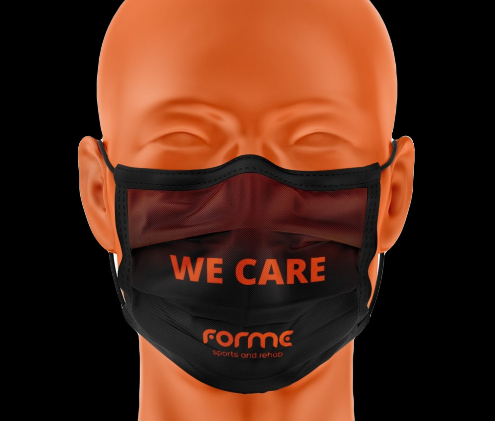 FORME sports and rehab headmasks corona
