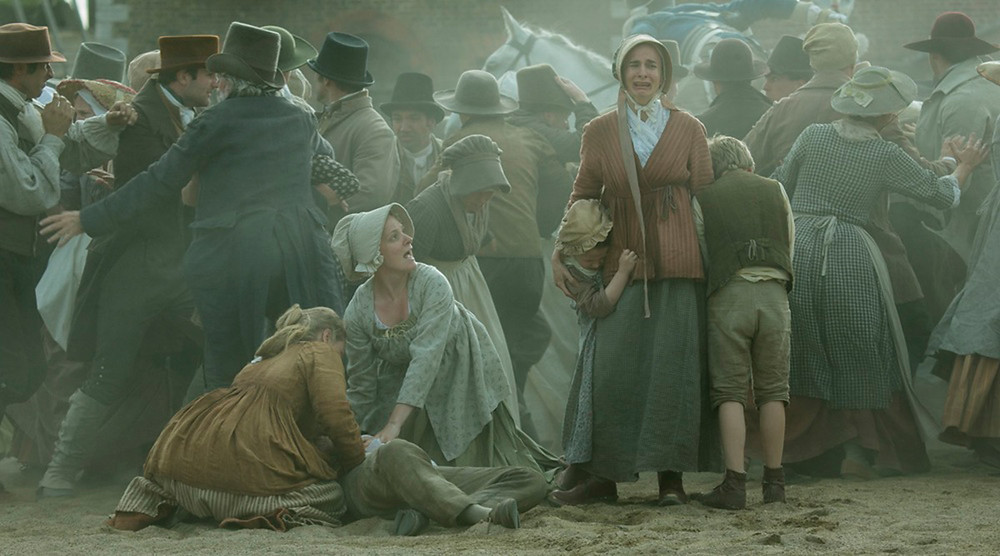 Peterloo film review UK
