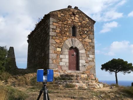 ScanPhase escanea y digitaliza la ermita de Sant Onofre (Siglo XV)