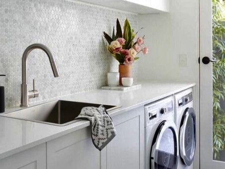 Tips to maintaining the laundry sink