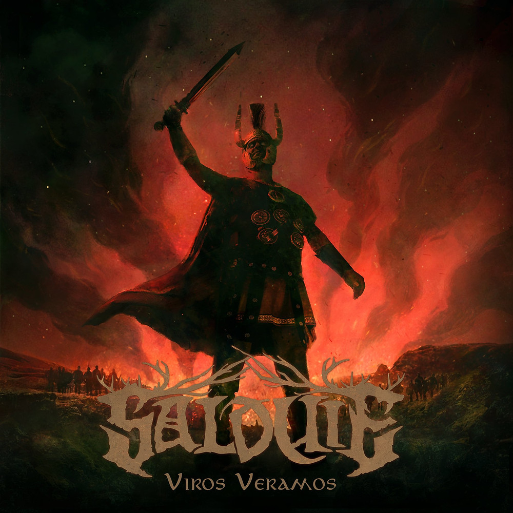 Viros Veramos disco album folk metal band spanish español castellano Salduie