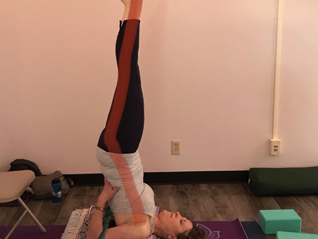 My Shoulder Stand by Melissa Boyette