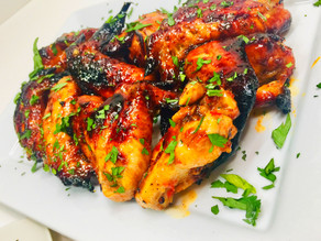 Chicken Wings (Thai Inspired and Oven Baked)