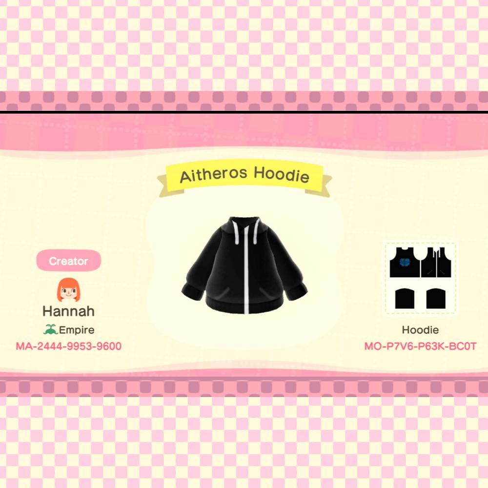 Animal Crossing: New Horizons hoodie design