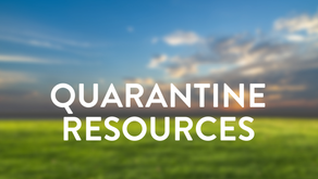 Resources For Quarantined Missionaries