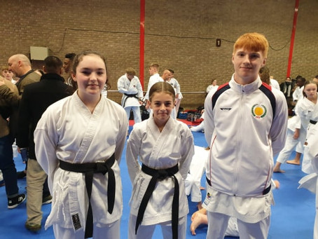 Harry Hardcastle secures his place on the English Karate Federation Squad