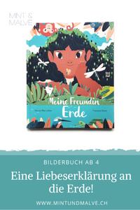 Buchtipp MINT & MALVE: Meine Freundin Erde - Patricia MacLachlan und Francesca Sanna, NordSüd Verlag, 2020