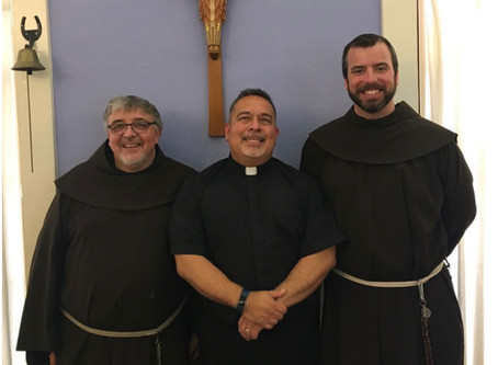 A Visit from the Franciscans!