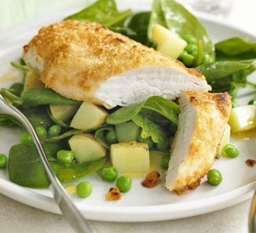 Parmesan Chicken breasts, dinner party recipe