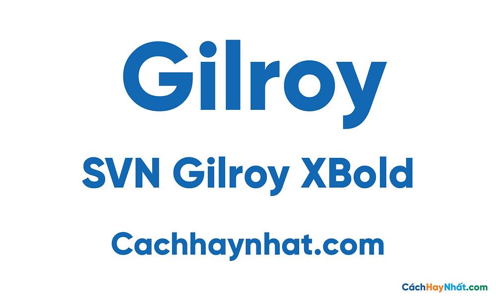 SVN Gilroy XBold