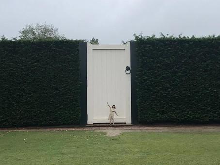 Optical Illusion at Hamilton Gardens