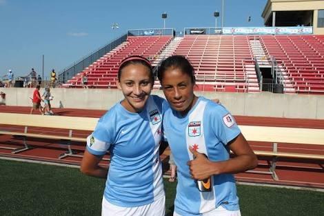 D. Garza y Maribel Dominguez