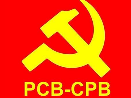 Document politique du 36e Congrès du PCB / Politiek document van het 36ste Congres van de CPB