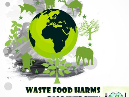 Waste food harms biodiversity