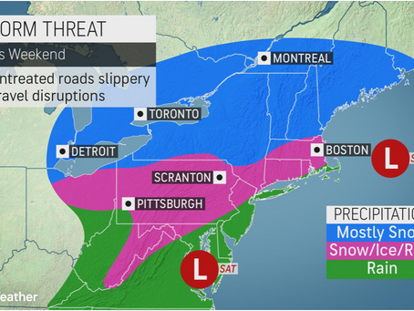 Following brief lull, forecasters say another winter storm looms for central, eastern US