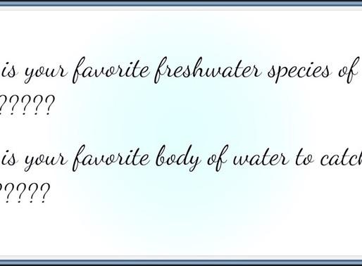 Favorite fish & fishing hole ?