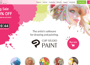 My top 5 art programs to help you get into Digital art!