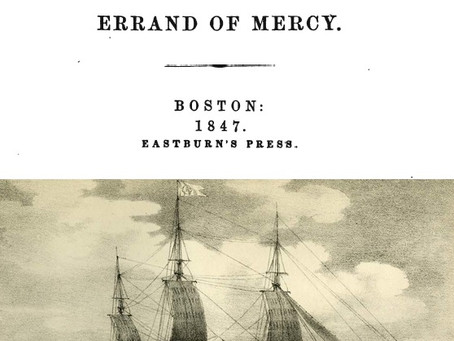 Captain Ben Forbes & the Errand of Mercy