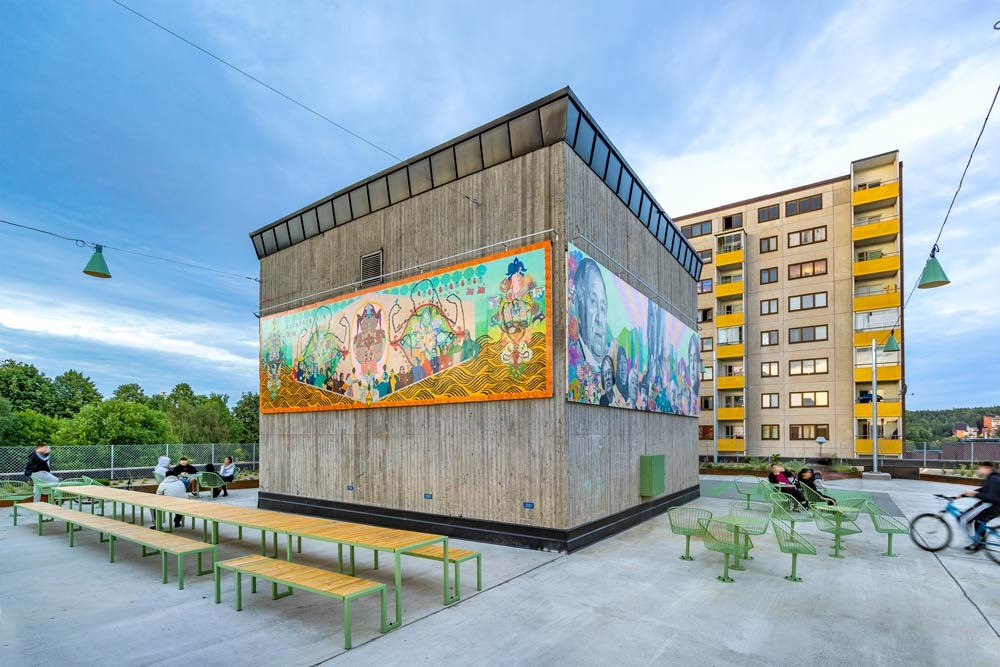 #fittja #konstkuben #urbanpark #nola