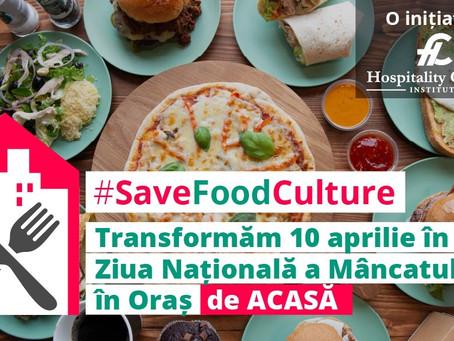 10 Aprilie: Ziua Națională a Mâncatului în Oraș de Acasă