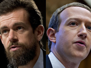 The lies keep coming as Facebook & Twitter defend the handling of U.S. election misinformation