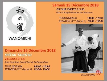 Stage D. Toutain samedi 15 Décembre