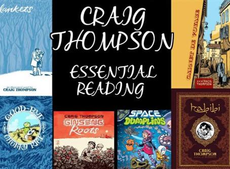 Craig Thompson: Essential Reading List