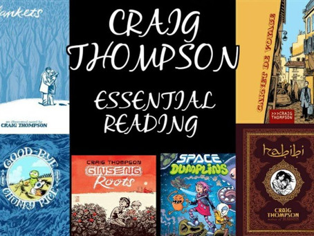 Craig Thompson: Essential Reading List