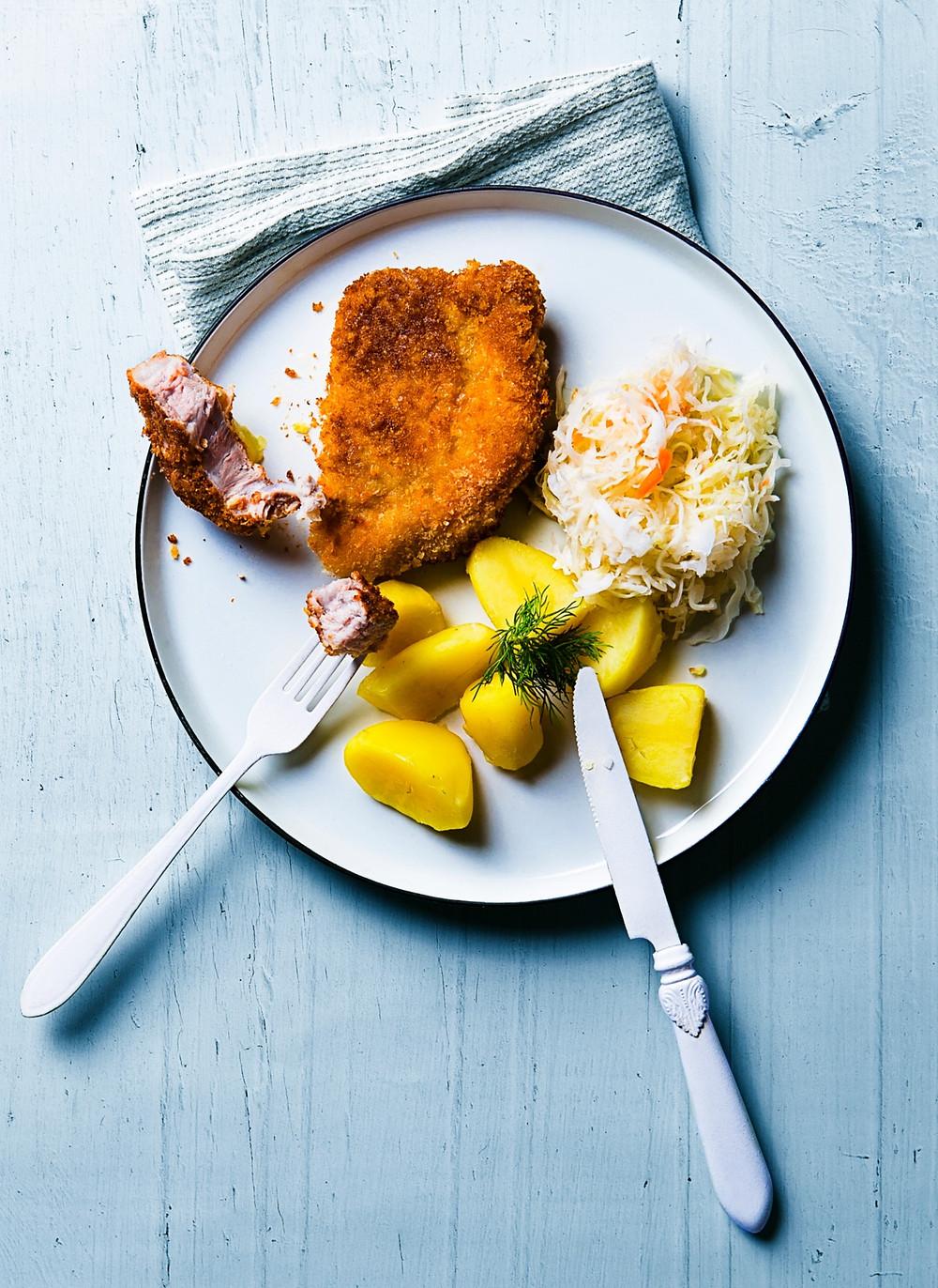 lietuviškas karbonadas, vmgonline.lt receptai, Alfo Ivanausko receptai, idėjos pietums, lietuviški patiekalai