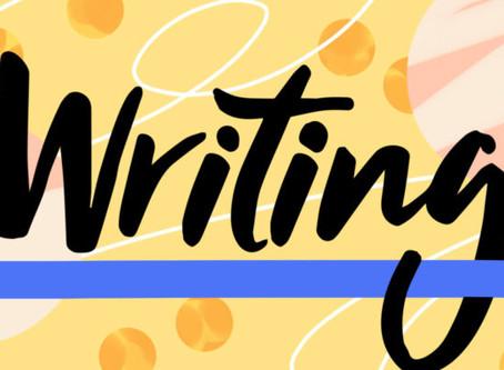 Writing is a communication- so communicate!
