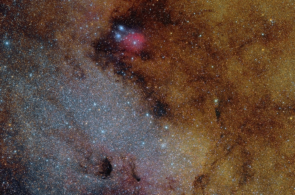 Messier 24 Astrophotography taken by Roberto Colombari