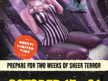 It's Spooky Season @ Art Lust!
