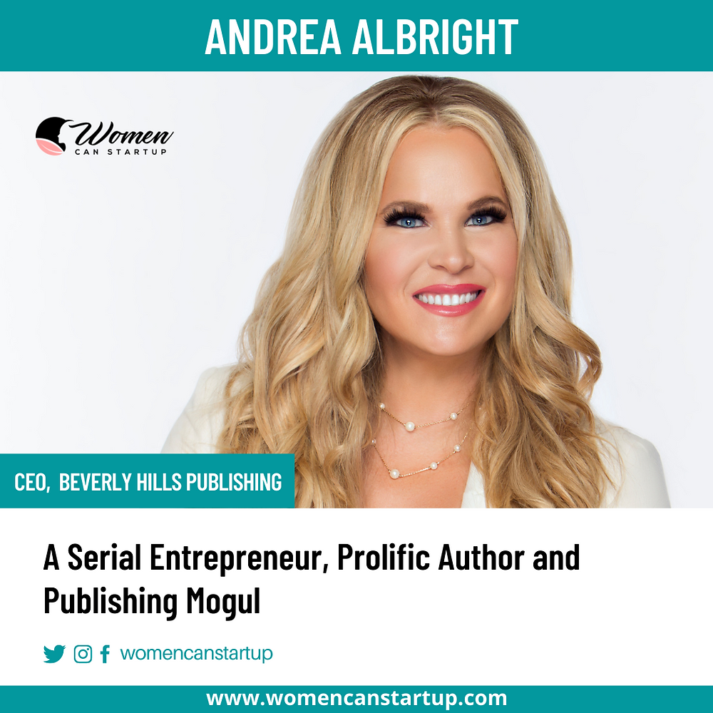 Andrea Albright - Author, Visionary Boss