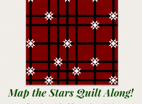 Map the Stars Quilt Along