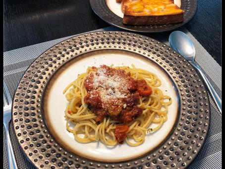 Thrown Together Spaghetti