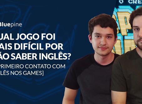 Qual jogo foi mais difícil por não saber inglês?  O Primeiro contato com inglês nos games