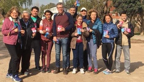 La UV Mas Campana presentó varios proyectos en el H.C.D. luego de un recorrido por Las Acacias