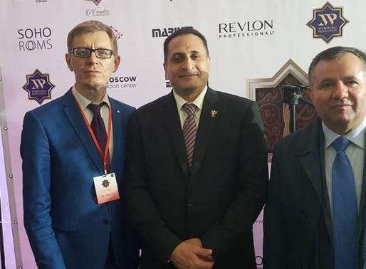نائب رئيس النادي الدبلوماسي الدولي و الملحق التجارير التركي ( روسيا 2018)ـ