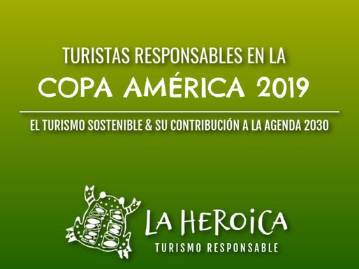 Turistas Responsables en la Copa América 2019.