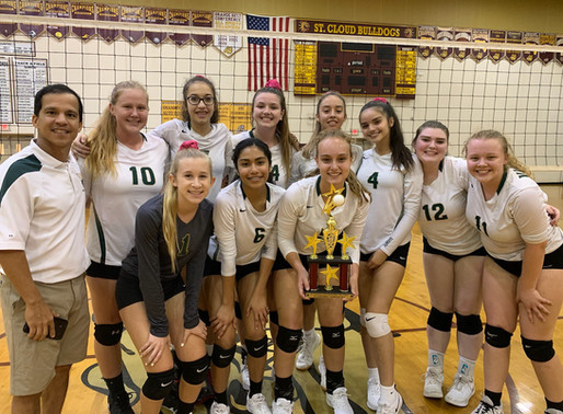 JV takes first place at St. Cloud tournament