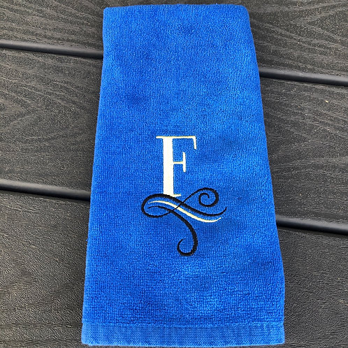 Exquisite Monogramed Workout Towel
