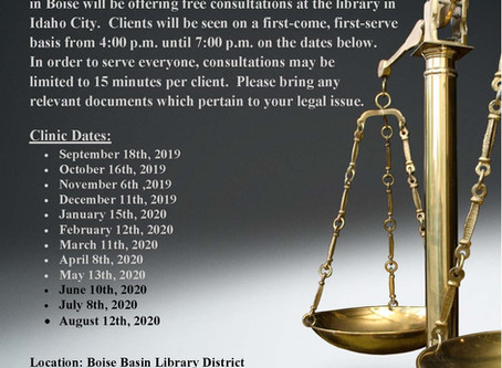 DK Partner Founds Legal Clinic in Boise County