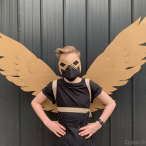 DIY CARDBOARD ARTICULATING WINGS