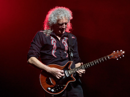 Harold May's Red Special Legacy