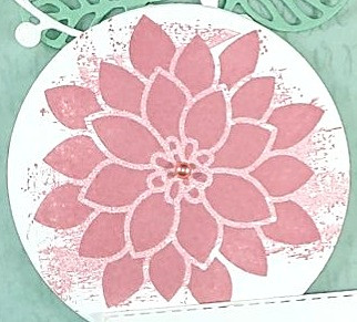 Close up image of flower stamp
