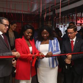 """Pérola inaugura primeiras agências"""" Fidelidade""""  nas províncias do Bié e Huambo"""