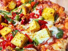 Delicious Paneer Pizza
